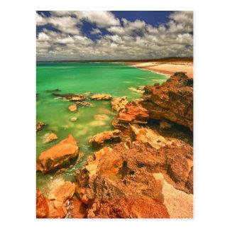 Plage | Tasmanie de Frasers Carte Postale