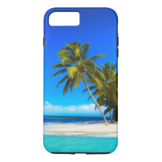 Plage tropicale coque iPhone 7 plus