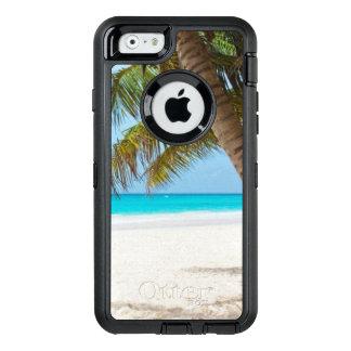 Plage tropicale de palmiers coque OtterBox iPhone 6/6s