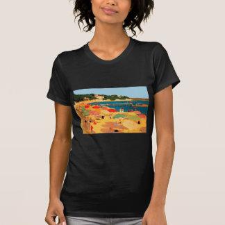 Plage vintage de la Côte d'Azur T-shirts