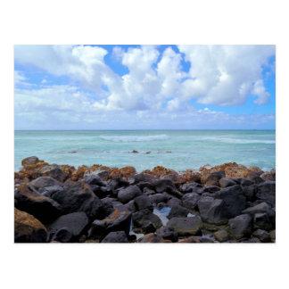 Plages de Honolulu Carte Postale