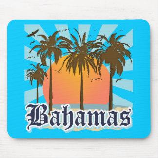 Plages d'îles des Bahamas Tapis De Souris