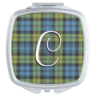Plaid de tartan écossais de famille de Campbell de Miroir De Maquillage