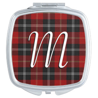 Plaid de tartan écossais de Marjoribanks de clan Miroir De Voyage