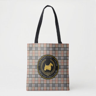 Plaid de Yourberry de premiers rangs de Terrier Sac