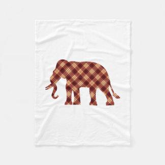 Plaid d'éléphant couverture polaire