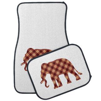 Plaid d'éléphant tapis de sol