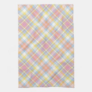 Plaid en pastel de rayure serviette éponge