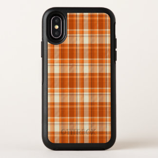 Plaid orange