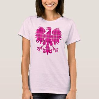 Plaid rose polonais Eagle T-shirt