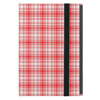 Plaid rouge coque iPad mini