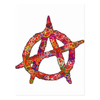 Plaine de paix d'anarchie carte postale