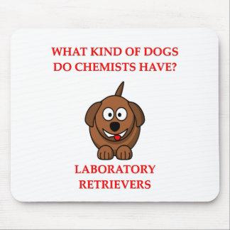 plaisanterie de chimie tapis de souris
