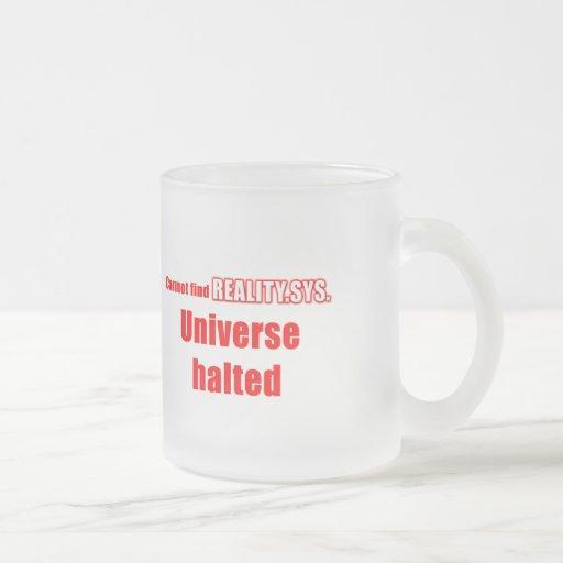 Plaisanterie de geek d'ordinateur mugs à café