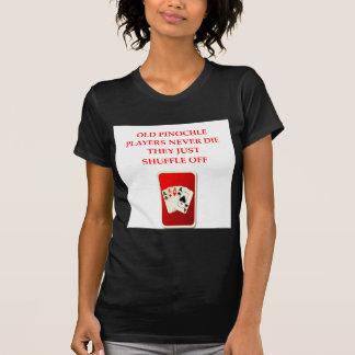 plaisanterie de joueurs de carte t-shirt