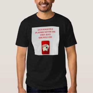 plaisanterie de joueurs de carte t-shirts