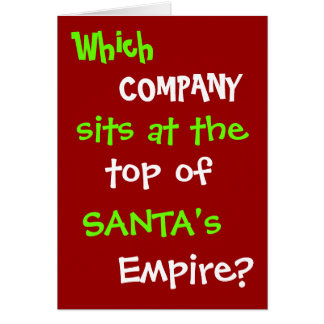 Plaisanterie drôle de carte de Noël d'avocat de