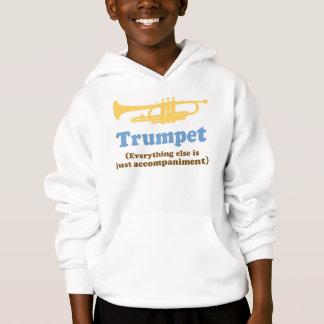 Plaisanterie drôle de trompette