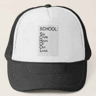 plaisanterie drôle d'école casquette