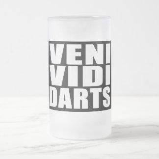 Plaisanteries drôles de citations de joueurs de mug en verre givré