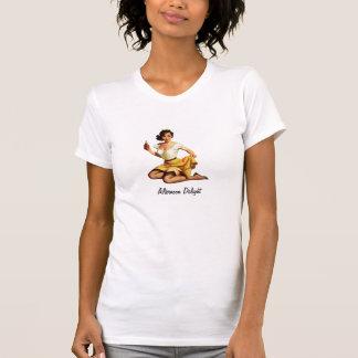 Plaisir d'après-midi t-shirts