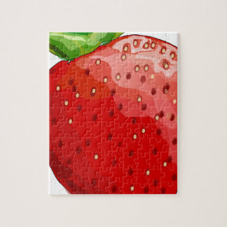Plaisir d'été de fraise puzzle