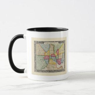 Plan de Baltimore Mug