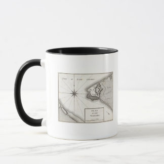 Plan de fort Niagara Tasses