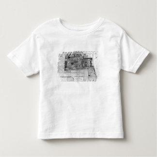 Plan de Parc Monceau à Paris T-shirt Pour Les Tous Petits