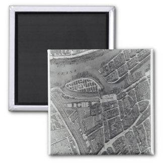 Plan de Paris, connu sous le nom de 'Plan de Turgo Aimant