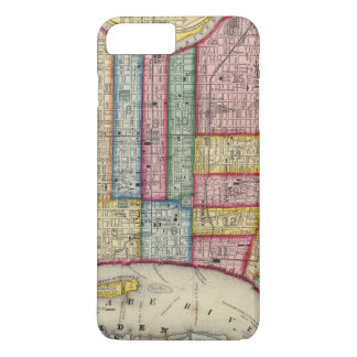 Plan de Philadelphie Coque iPhone 7 Plus
