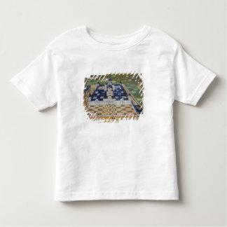 Plan du monastère de l'EL Escorial, de 'Civita T-shirt Pour Les Tous Petits