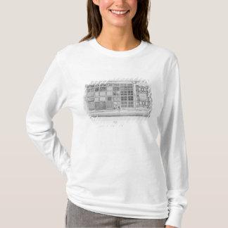 Plan du palais et du jardin du Tuileries T-shirt