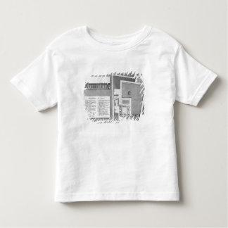 Plan du Port-Royal de Maternite T-shirt Pour Les Tous Petits