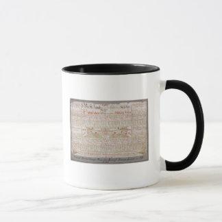 Plan original de disposition mug