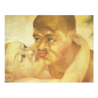 Plan rapproché (baiser), CAD. Beaux-arts de Cartes Postales