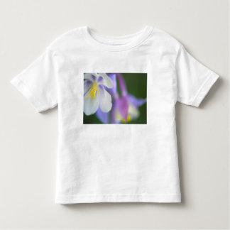 Plan rapproché de fleur du Colorado Columbine T-shirt Pour Les Tous Petits