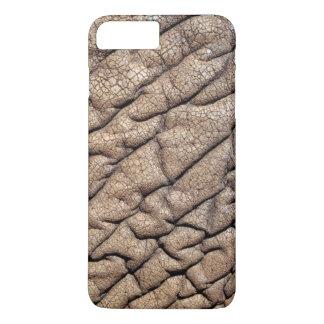 Plan rapproché de la peau d'éléphant africain coque iPhone 7 plus