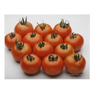 Plan rapproché des tomates cartes postales