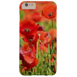 Plan rapproché d'un champ de pavot, France Coque Barely There iPhone 6 Plus