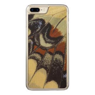 Plan rapproché tropical de papillon coque carved pour iPhone 7 plus