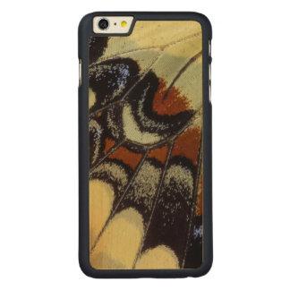 Plan rapproché tropical de papillon coque en érable iPhone 6 plus