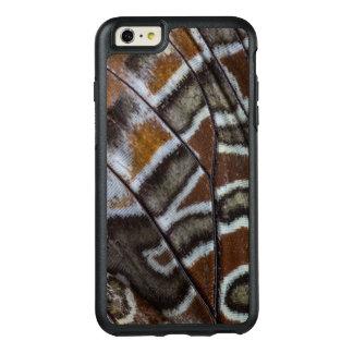 Plan rapproché tropical de papillon de Brown Coque OtterBox iPhone 6 Et 6s Plus