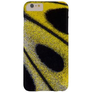 Plan rapproché tropical jaune de papillon coque barely there iPhone 6 plus