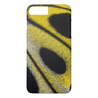 Plan rapproché tropical jaune de papillon coque iPhone 7 plus