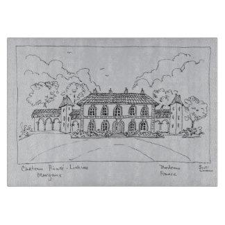 Planche À Découper Château Prieure-Lichine, Margaux, Bordeaux