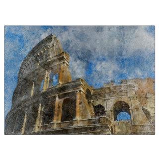 Planche À Découper Colosseum à Rome antique Italie