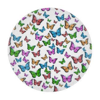 Planche À Découper Conception de motif de papillons