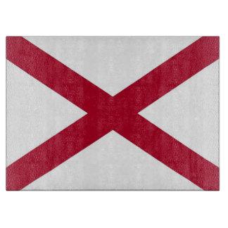 Planche À Découper Conseil de taille du verre avec le drapeau de