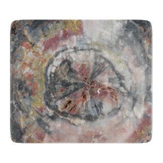 Planche À Découper Conseil de taille du verre en bois Petrified